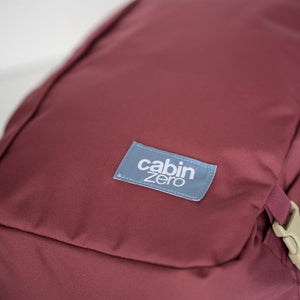 Cabinzero Classic 36L Ultra-Light Cabin Bag in Napa Wine Color 7