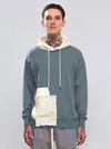"""Fake Clothes"" Patchwork Hoodie - This Is For Him"