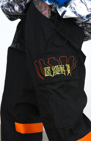Flourescent Windbreaker Pants