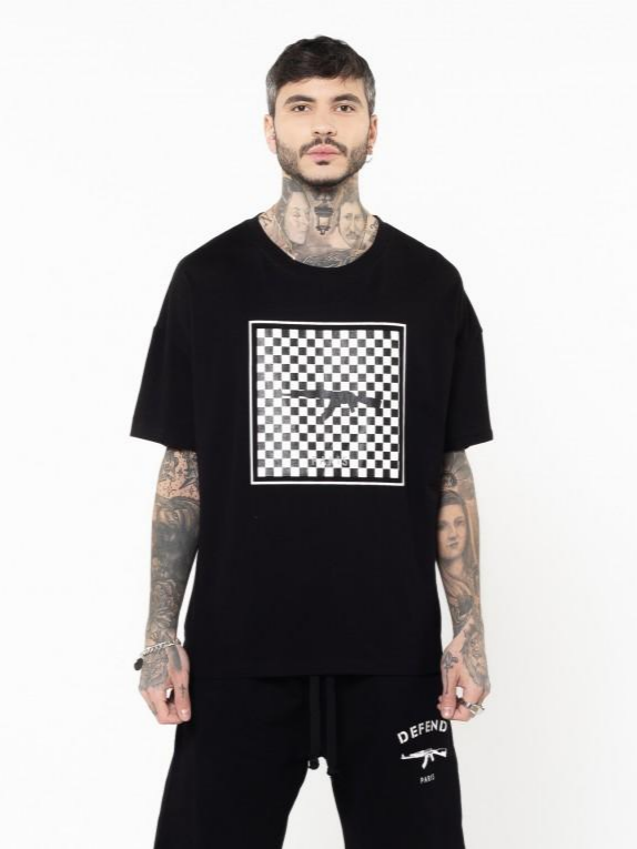 Defend Paris Ice Damier Tee - This Is For Him