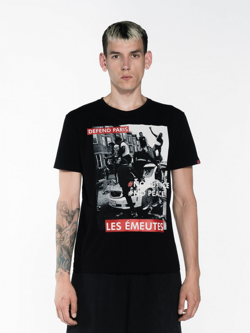 Defend Paris Emeutes Tee - This Is For Him