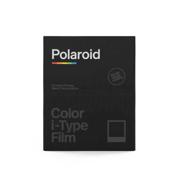 Polaroid Color i‑Type Film ‑ Black Frame Edition