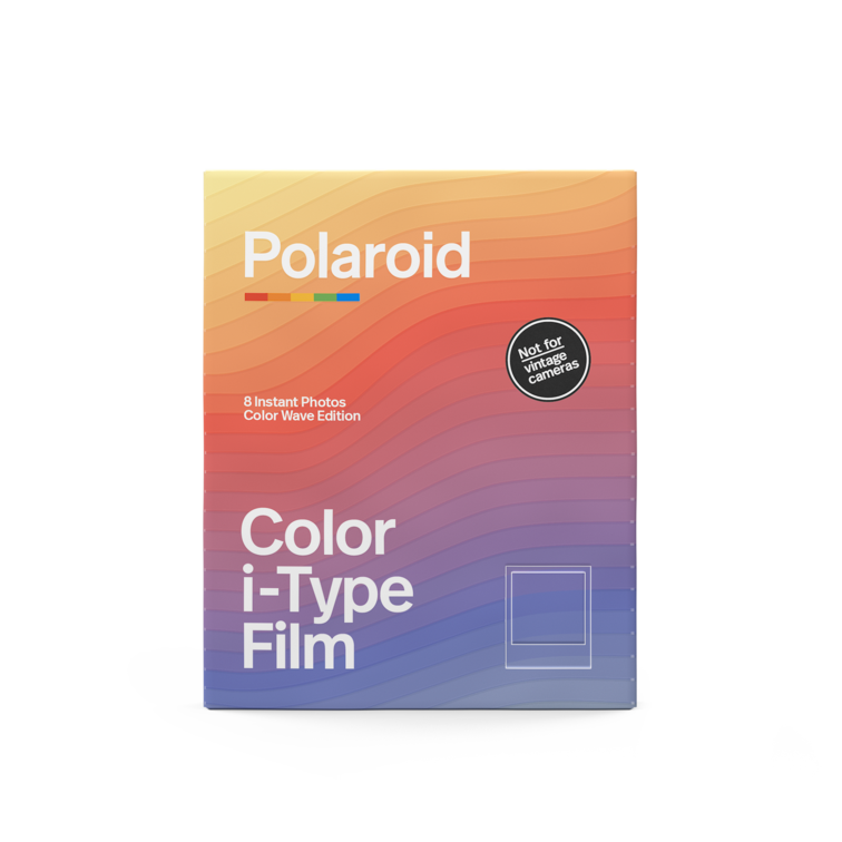 Polaroid Color i‑Type Film ‑ Color Wave Edition