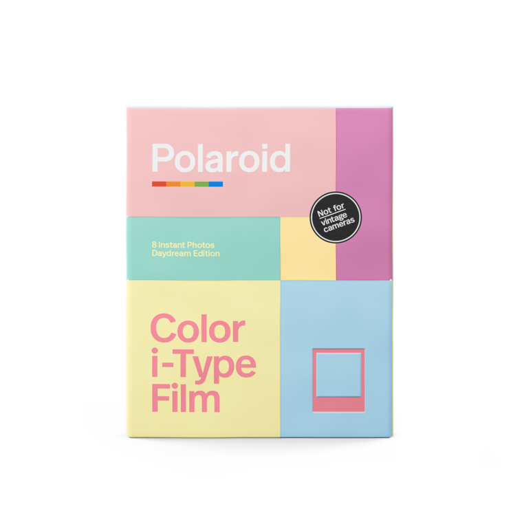 Polaroid Color i‑Type Film ‑ Daydream Edition