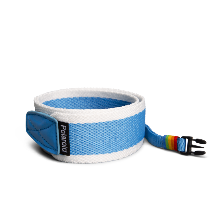 Polaroid Camera Strap ‑ Flat (Blue)