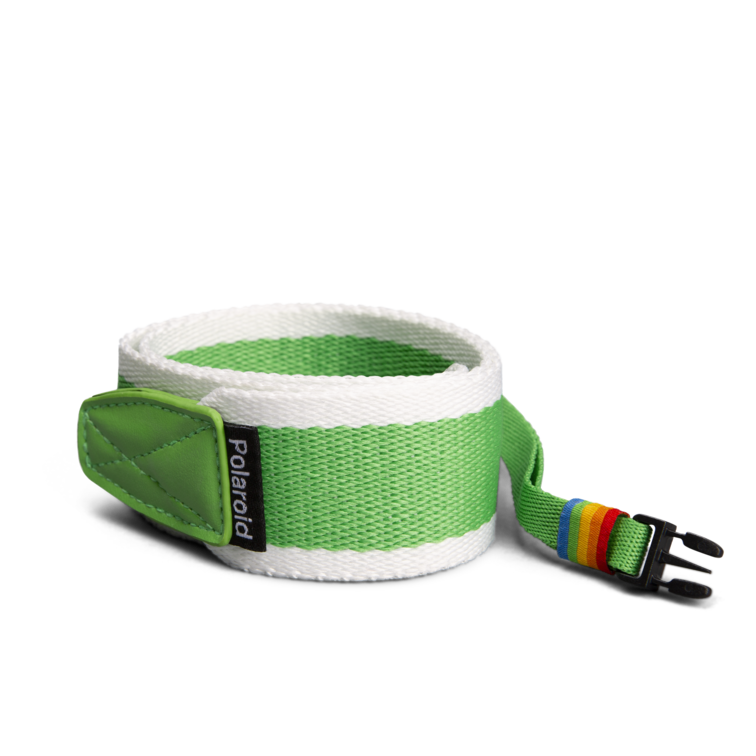 Polaroid Camera Strap ‑ Flat (Green)