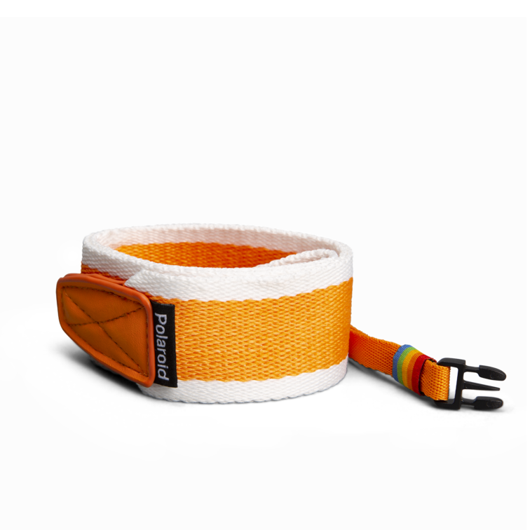 Polaroid Camera Strap ‑ Flat (Orange) 3