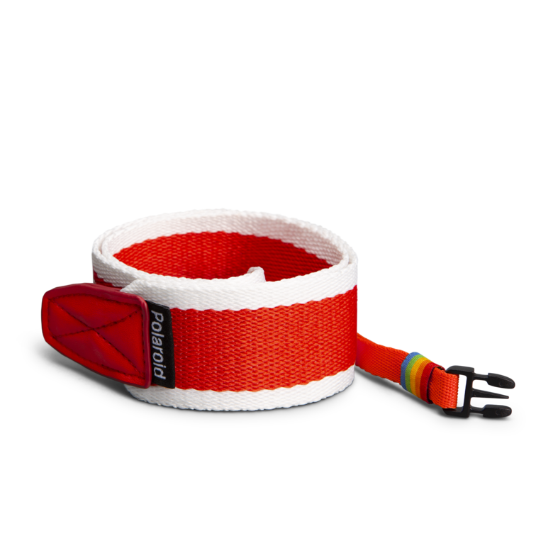 Polaroid Camera Strap ‑ Flat (Red)