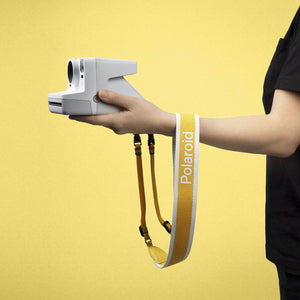 Polaroid Camera Strap ‑ Flat (Yellow) 2