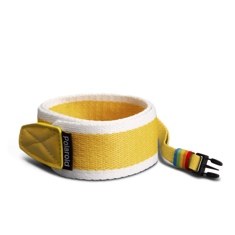 Polaroid Camera Strap ‑ Flat (Yellow)