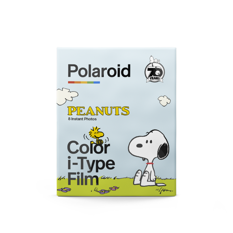 Polaroid Color i‑Type Film ‑ Peanuts