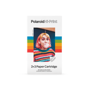 Polaroid Hi·Print 2x3 Paper Cartridge ‑ 20 sheets
