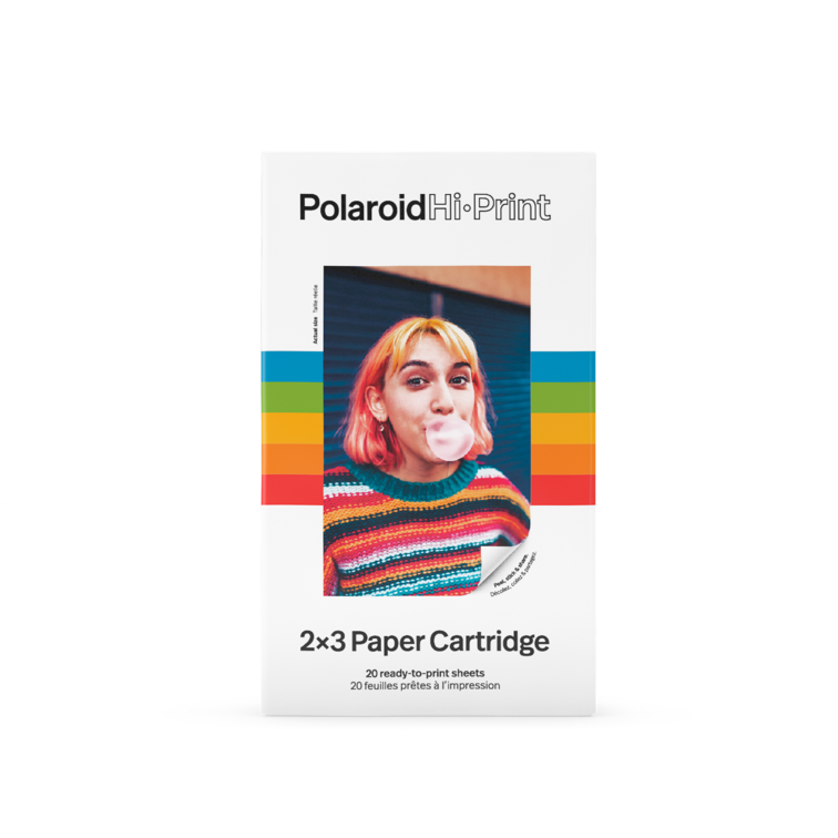 Polaroid Hi·Print 2x3 Paper Cartridge ‑ 20 sheets 2