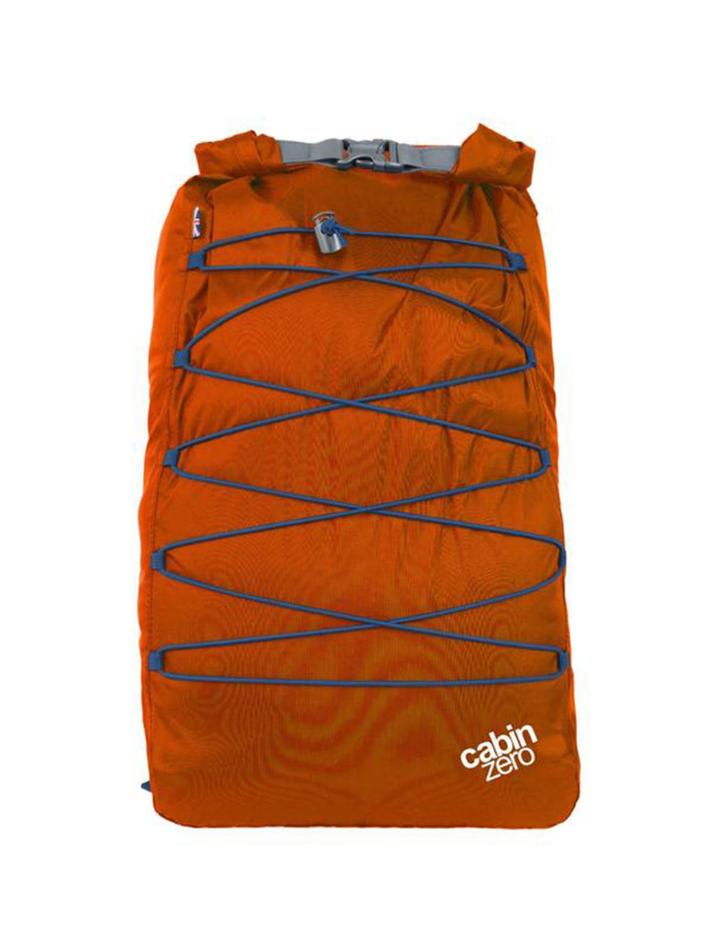 Cabinzero Adventure Dry Waterproof Cross Body Bay 30L in Orange Color