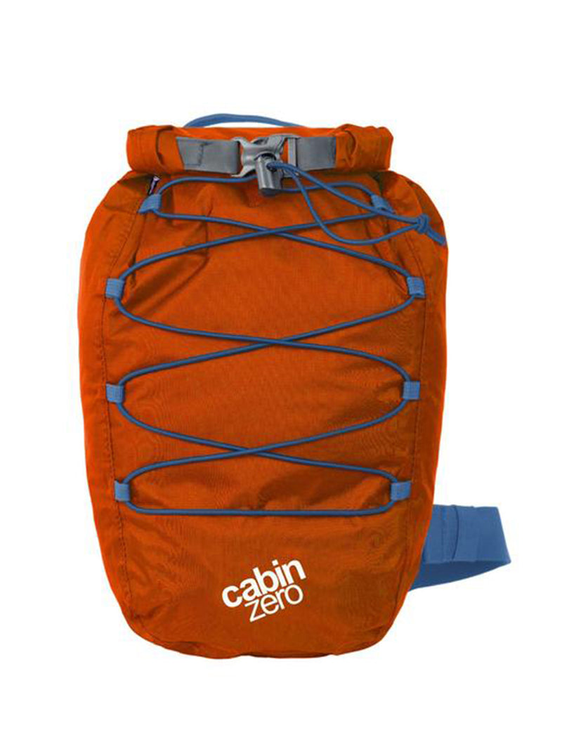 Cabinzero ADV Dry Waterproof Cross Body Bay 11L in Orange Color