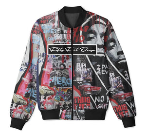 Fifty Foot Drop Tupac 2 Tracksuit Jacket