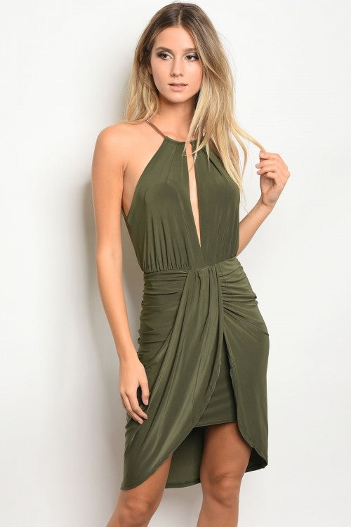 Olive Night Dress - Proud Girl