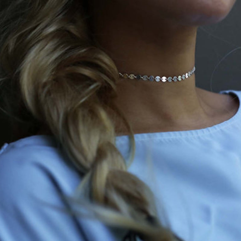 Chain Choker Necklace - Proud Girl