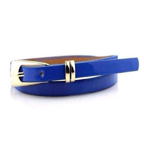 Women's Thin Leather Narrow Belt - Proud Girl