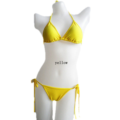 Women's new Hot sexy Pure Color Bikini Set - Proud Girl