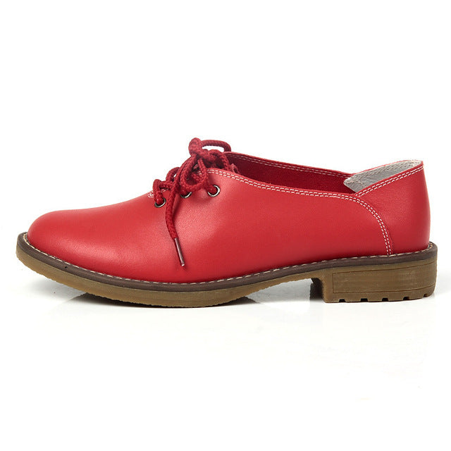 Genuine Leather Women's Shoes - Proud Girl