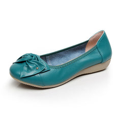 Genuine Leather  Loafers  Shoes - Proud Girl