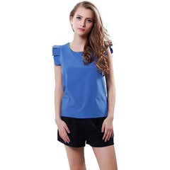 Women O-Neck Summer Blouse - Proud Girl