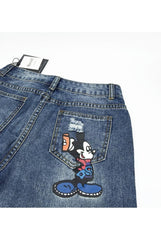 Women's Casual Micky Mouse Jeans - Proud Girl