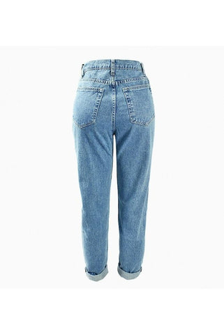Washed Light Blue Womens Jeans - Proud Girl