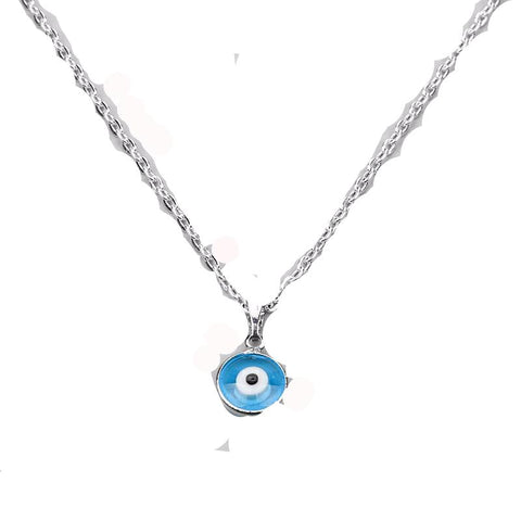 Turkish Evil Eye Protection Necklace - Proud Girl