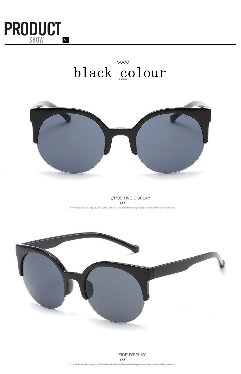 High Quality  Super Round Circle Sunglasses - Proud Girl