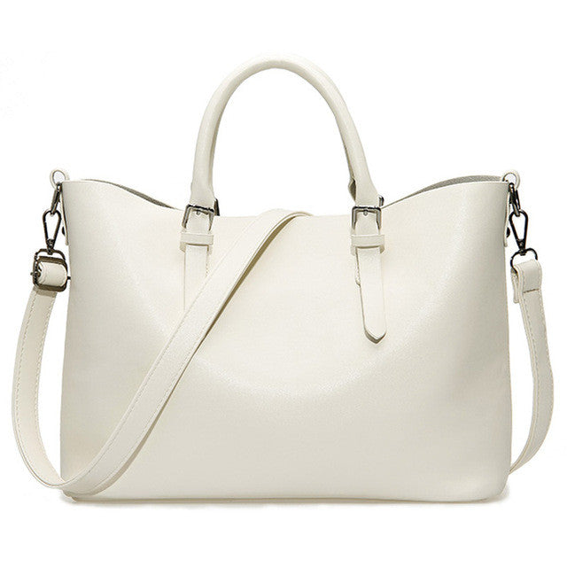 Leather Casual Handbag - Proud Girl