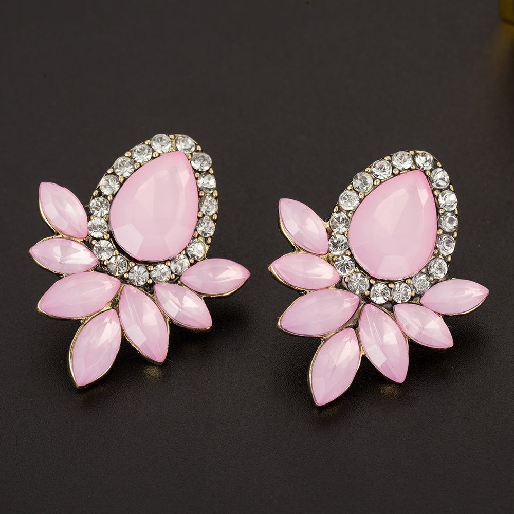 Flower Shaped Lovely Earrings - Proud Girl