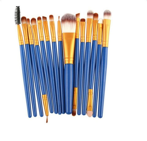 15pcs/6pcs Synthetic Makeup Brush - Proud Girl