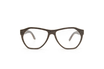 Gabriel Unisex Prescription Eyeglasses Silver Oak