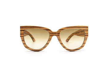 Holy Kitty Zebrano Sunglasses