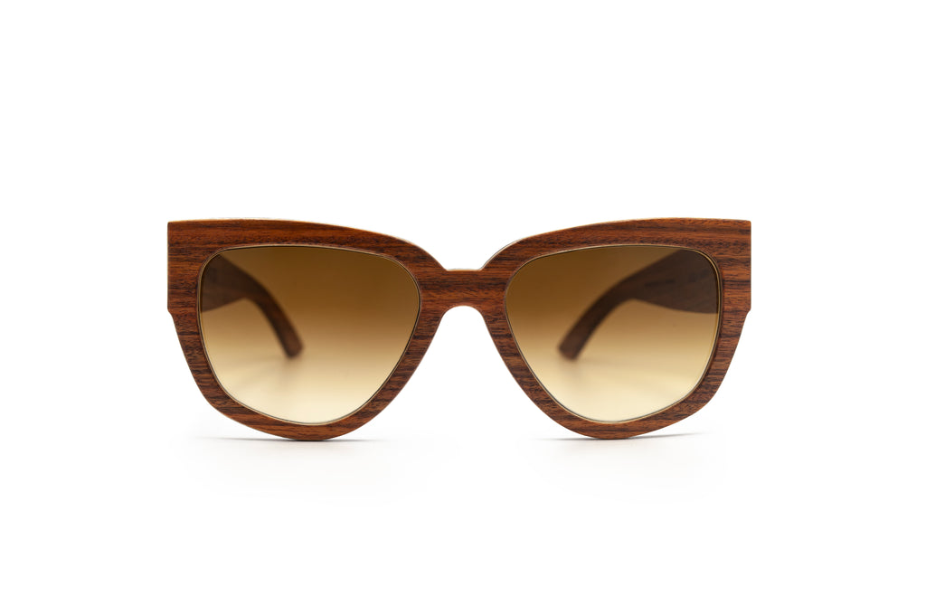 Orange Kitty Unique Wooden Shades