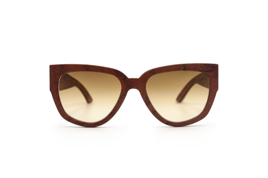 Holy Kitty Bubinga Wooden Sunglasses