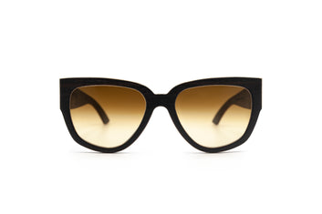 Holy Kitty Cat Eye Wooden Sunglasses
