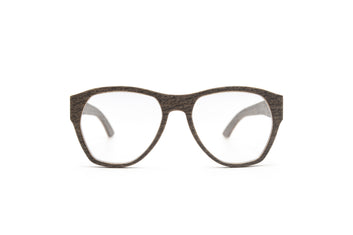 URIEL Silver Oak Unisex Prescription Eyeglasses