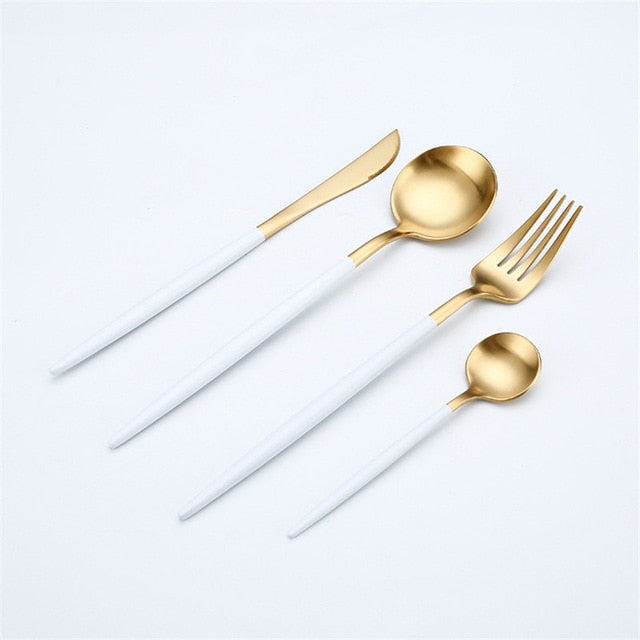 4 piece Stainless Steel Cutlery Set