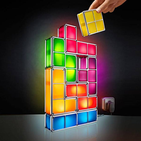 Tetris Puzzle Lamp Light - livecoolstuff
