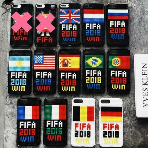 BLOKCASE™ - DIY Blocks Brick iPhone Case | Soccer Team, Victory! - livecoolstuff