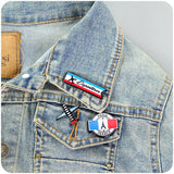 Cartoon Acrylic Pin Brooch - livecoolstuff
