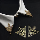 Exquisite Noble Vintage Crown Hollow Pattern Collar Pin Brooch - livecoolstuff