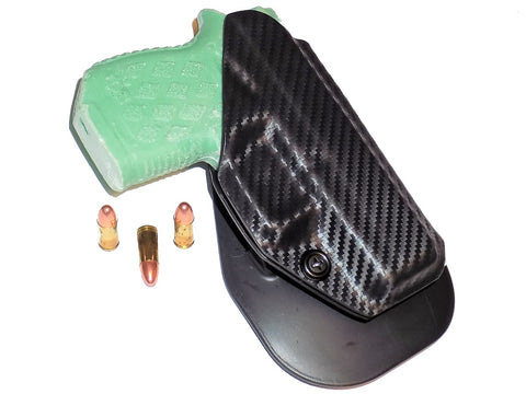 Aggressive Concealment DB9OWB OWB Kydex Paddle Holster Diamondback /DB9 Gen 4