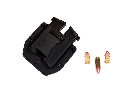 Aggressive Concealment MPDMP Kydex Double Mag Pouch Smith & Wesson M&P Shield/Shield 2.0 9
