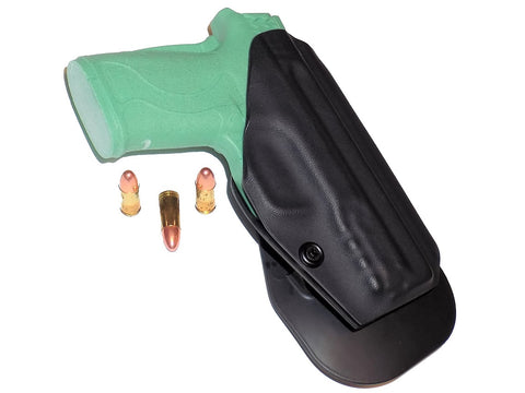 Aggressive Concealment EZ9OWB OWB Kydex Paddle Holster Smith & Wesson M&P Shield EZ 9mm