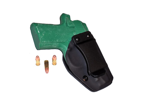 Aggressive Concealment KM380IWBLP IWB Kydex Holster Kimber micro 380