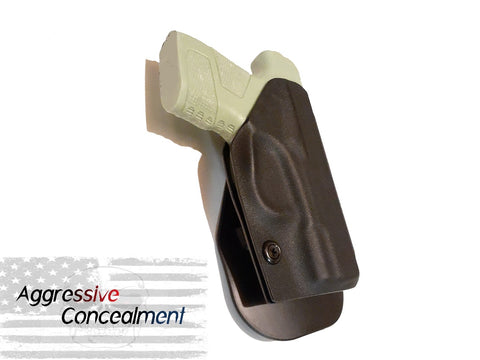 Aggressive Concealment MC1OWB Outside the waistband Kydex Holster fits Mossberg MC1